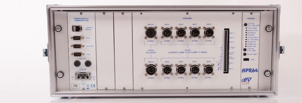 Analyseur de réseau électrique APR64-P